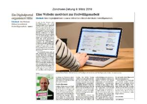 Beitrag in der Zürichsee-Zeitung 9.3.2019